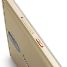 Lenovo K8 Plus Fine Gold side