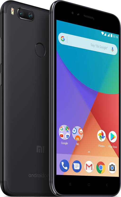 Xiaomi Mi A1 front and back