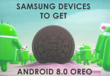samsung devices android 80-oreo