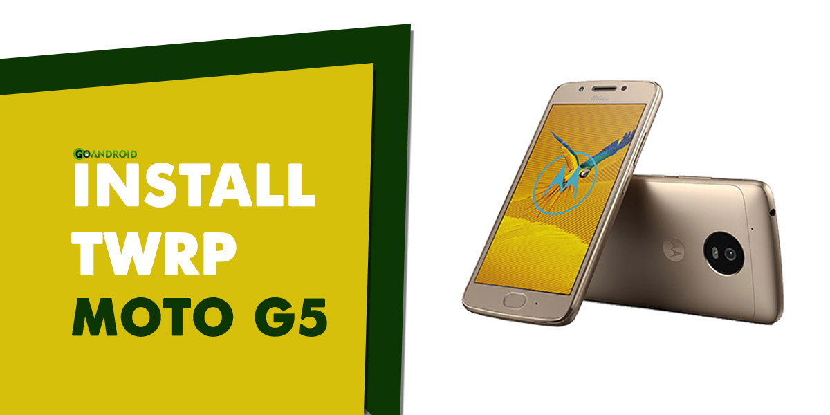 install twrp recovery moto g5
