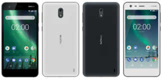 Nokia 2 black and white