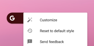 Now you can reset customizable search bar in Latest Google App Beta