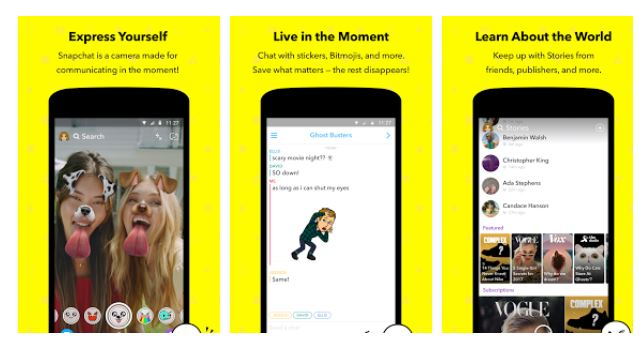 Snapchat 10.38.0.0 Apk for Android – Video Messaging Application by zain · August 7, 2018.