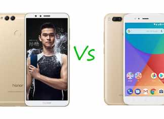 Honor 7X vs Xiaomi MI A1