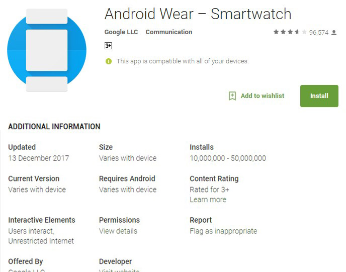 how to download music to android wear