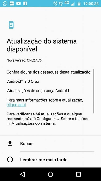 Android 8.0 Oreo Update