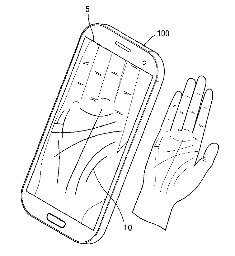 New Samsung patent reveals phone with fully curved display