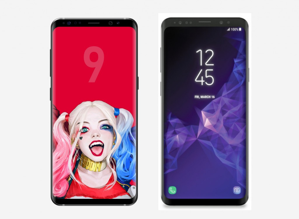 galaxy s9 new renders