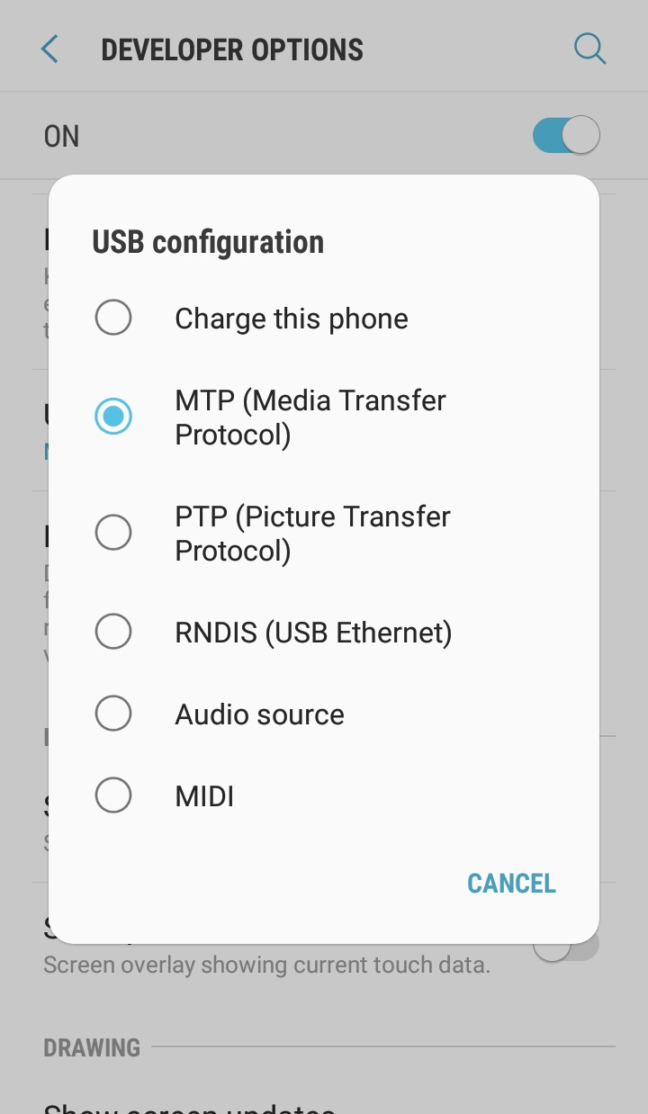 oneplus 5 mtp issue fix