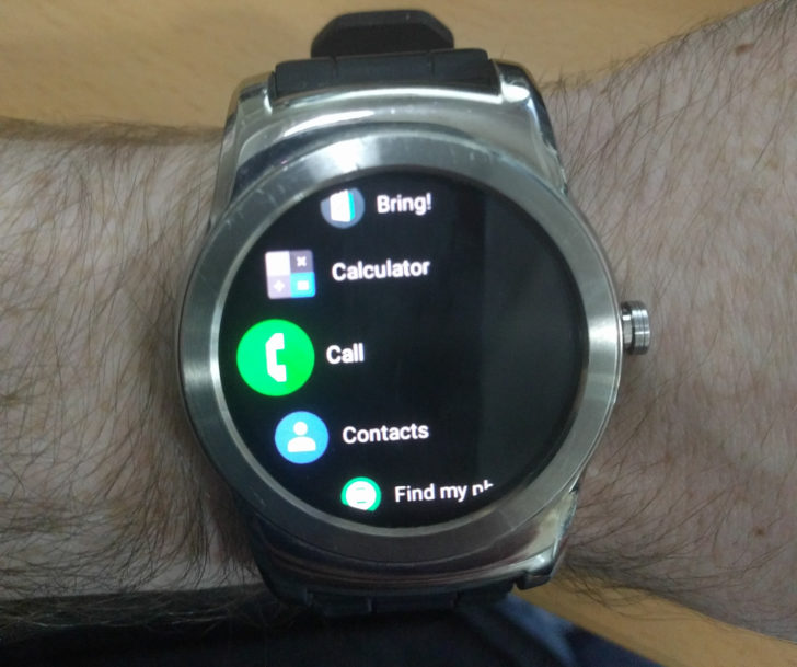 Android Wear 2.8 update