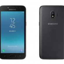 Galaxy J2 Pro front and back