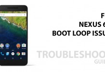 nexus 6p bootloop issue