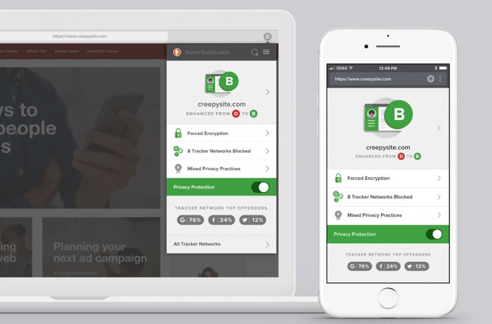 DuckDuckGo launches Privacy Browser App