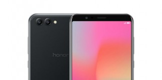 Huawei Honor View 10 front and back