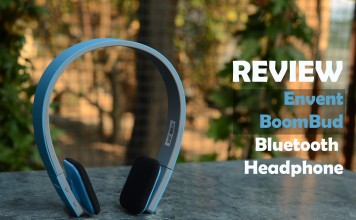 review envent boombud headphones