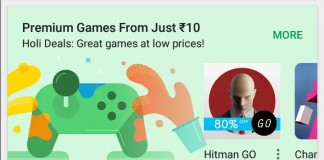 Play Store Holi Special Deals
