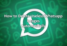 How to Delete Useless Whatsapp Images automatically