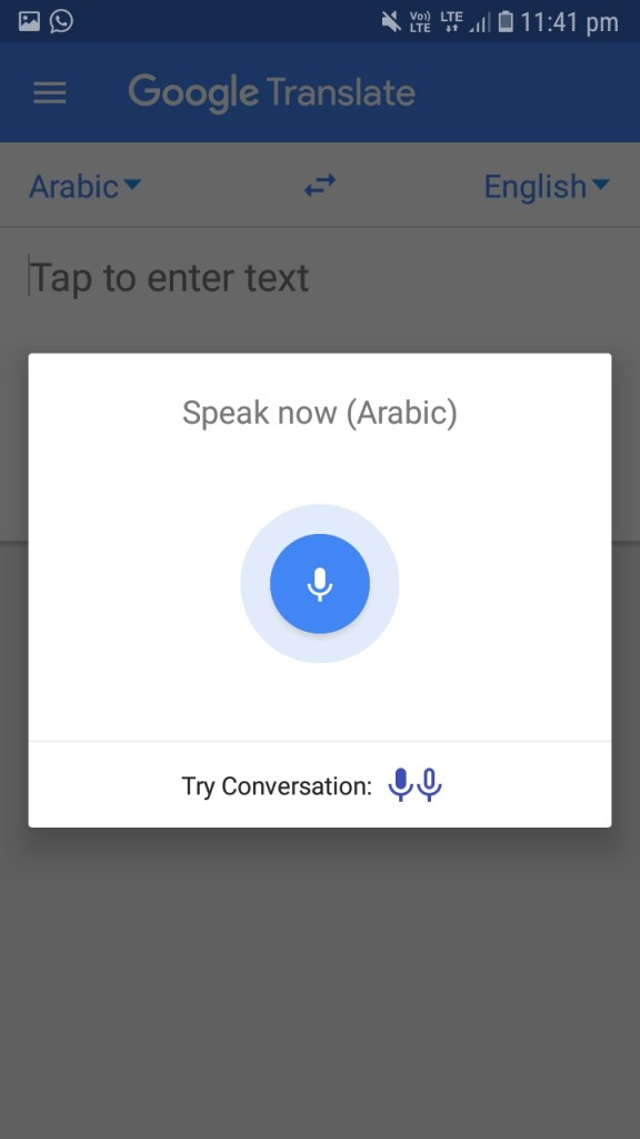 Google Translate Update
