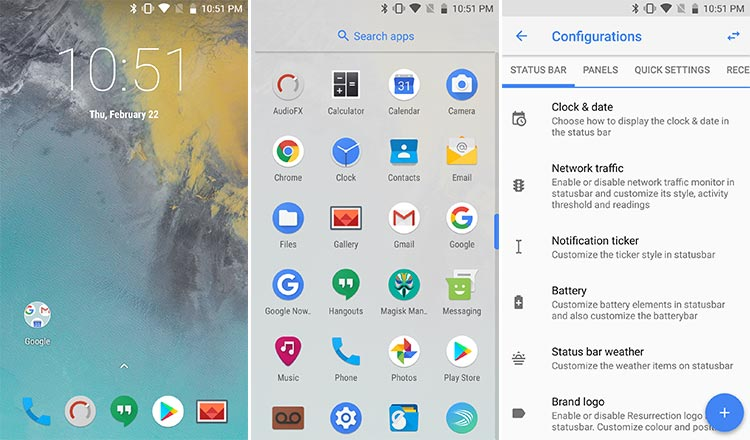 resurrection remix Custom ROMs for Galaxy S7