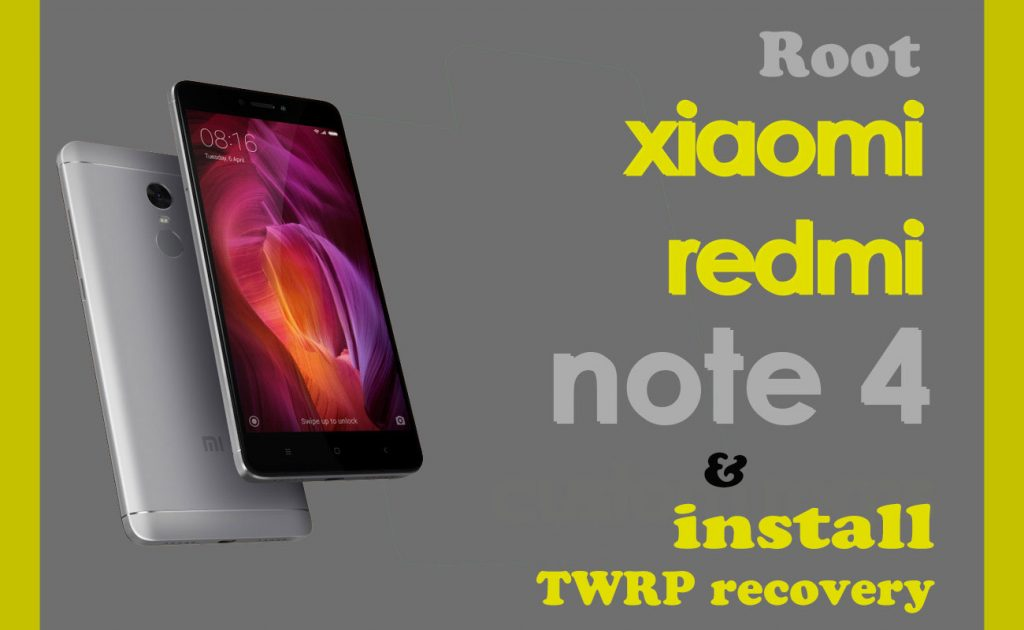 redmi note 4 twrp recovery download