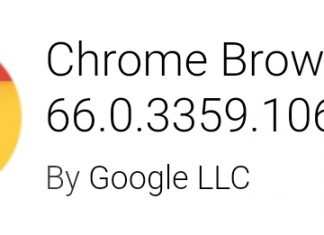 Google Chrome v66
