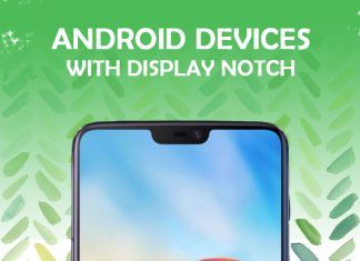 android display notch devices 2018