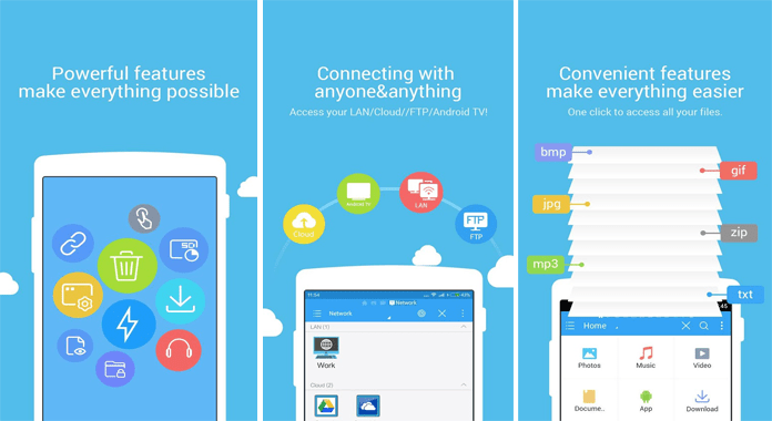 Manage Files on Android