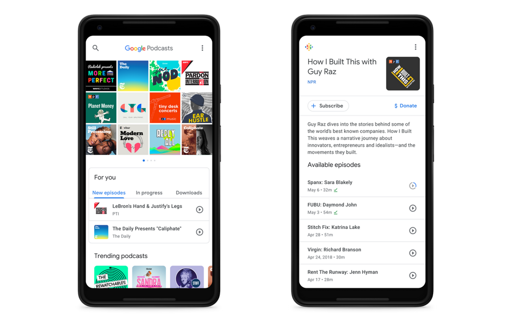 Google-Podcasts-App