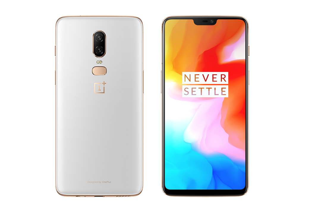 Oneplus 6 Silk White Limited Edition