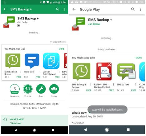 Play Store New Design