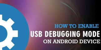 usb debugging mode on Android device
