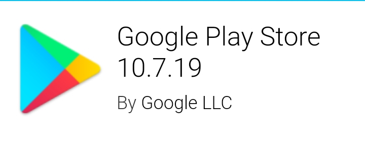 Google Play Store 10.7.19