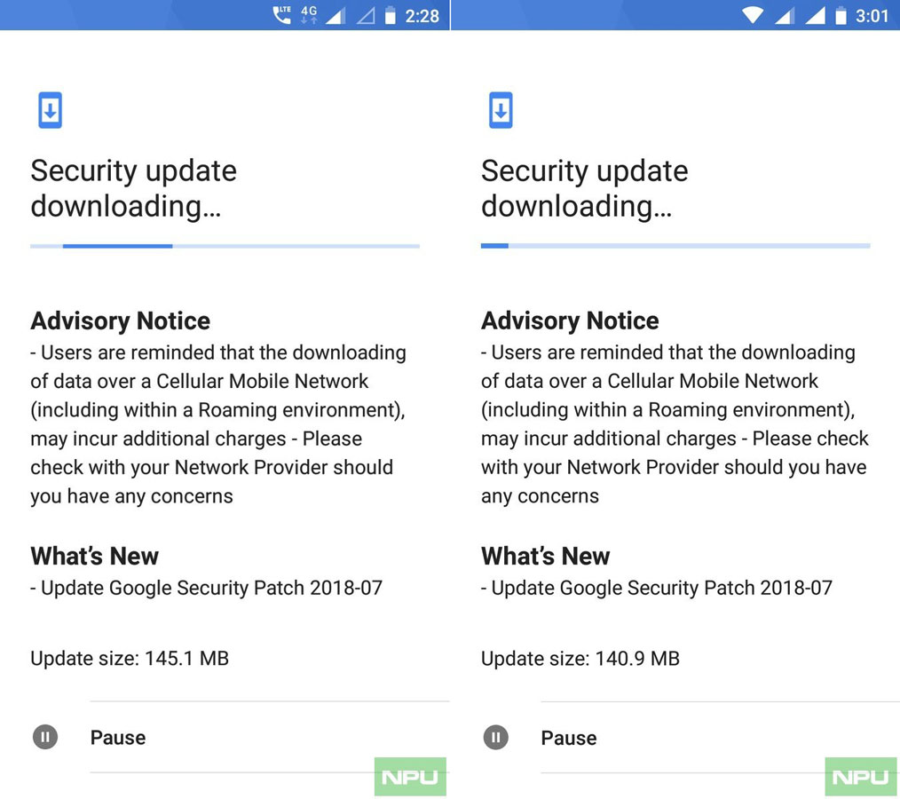 Nokia 5 and Nokia 6 July Security Patch
