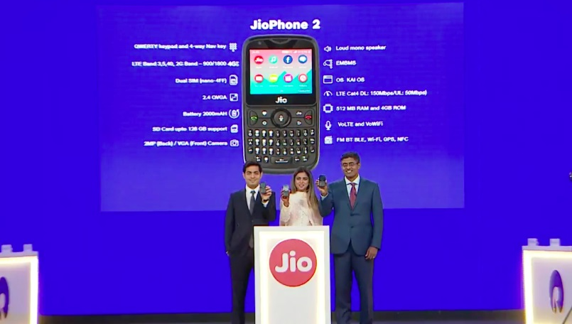 jiophone 2 features