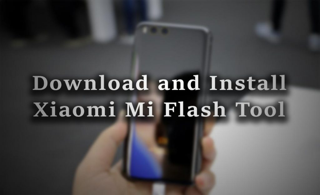 download mi flash tool latest