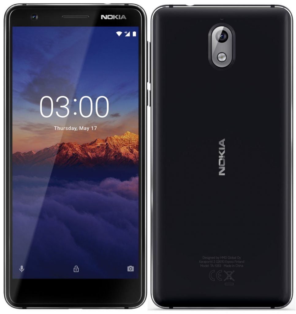 Nokia 3.1 with Android 8.0 Oreo is now Official in India