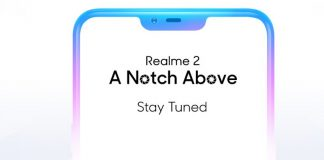 Oppo Realme 2 Display Notch