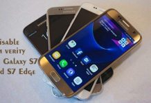 disable dm verity on Galaxy S7 and S7 Edge