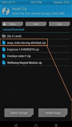 Install Android Pie on Redmi Note 4