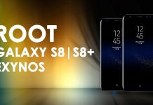 root galaxy s8 and s8 plus