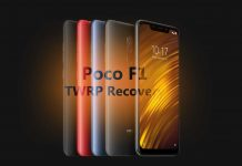 Poco F1 TWRP recovery