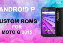 android custom roms for moto g 2015