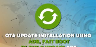 ota update using adb fastboot