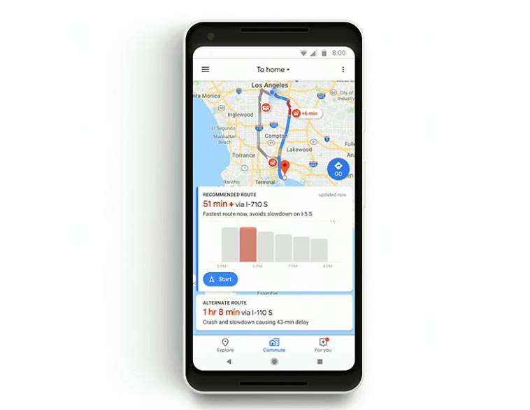 New Google Maps Update Adds Mixed-Mode Commutes And Spotify Integration