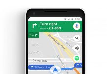 Google Maps Music integration
