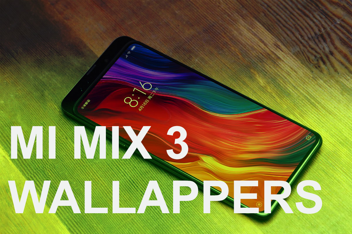 Download Xiaomi Mi Mix 3 Wallpapers In Hd Quality Goandroid
