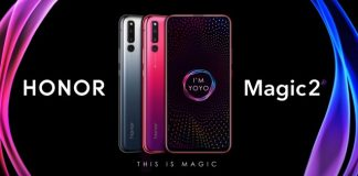 Honor Magic 2 slider