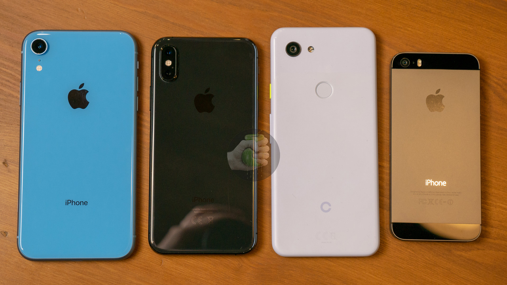 iPhone-Xr-iPhone-Xs-Pixel-3-Lite-iPhone-5S