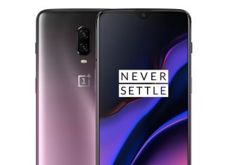 OnePlus 6T with Thunder Purple Color