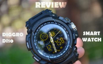 review diggro di10 smart watch